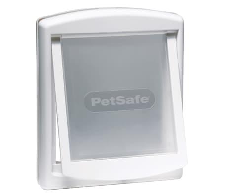 PetSafe Puerta mascotas 2 posiciones 740 mediana 26,7x22,8 blanca 5020