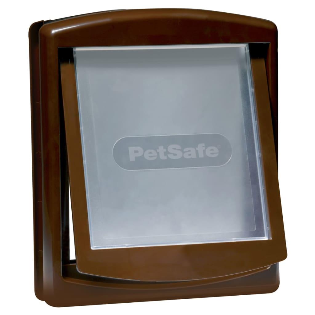 Afbeelding van PetSafe Huisdierenluik 2 standen 755 Medium bruin 26,7x22,8 cm 5021