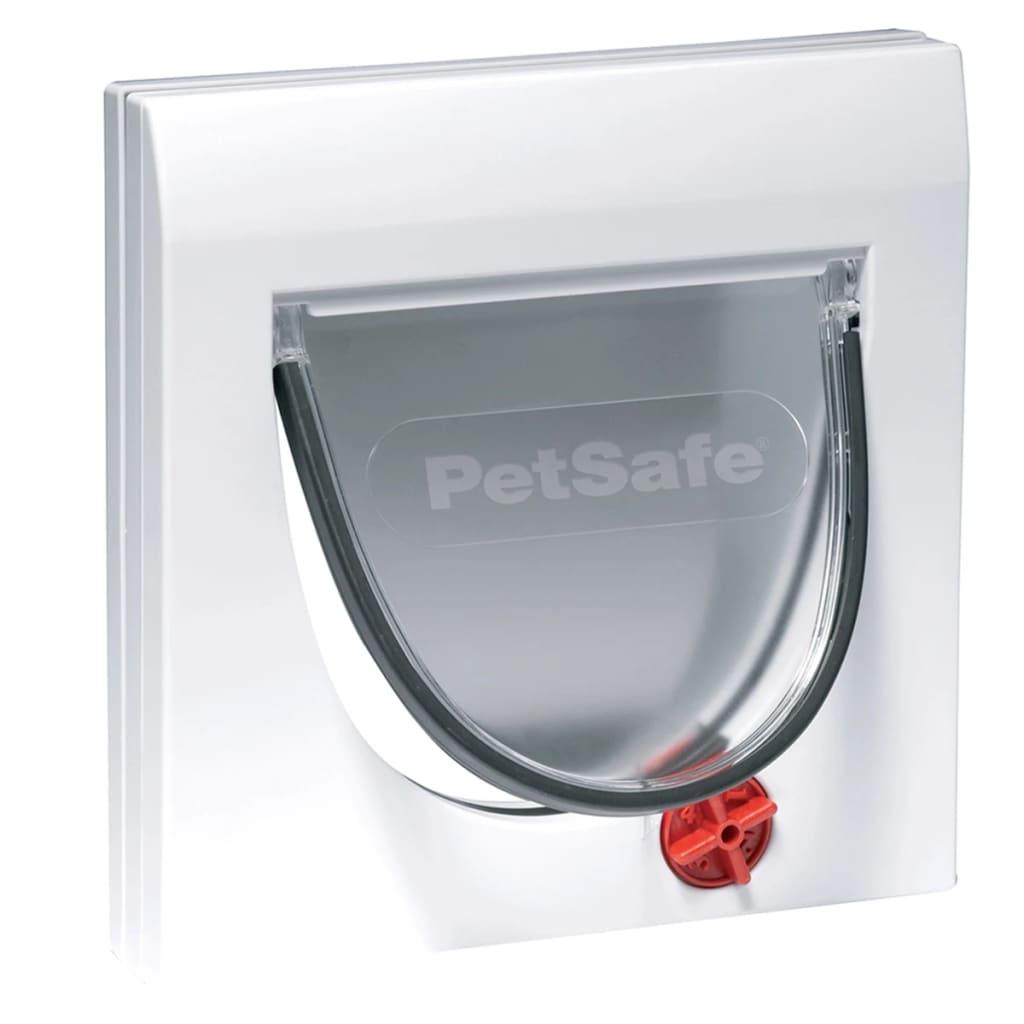Afbeelding van PetSafe Handmatige kattenklep met 4 standen zonder tunnel Classic 919 wit 5031