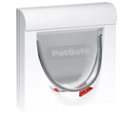 PetSafe Gatera magnética de 4 posiciones Classic 932 blanca 5032