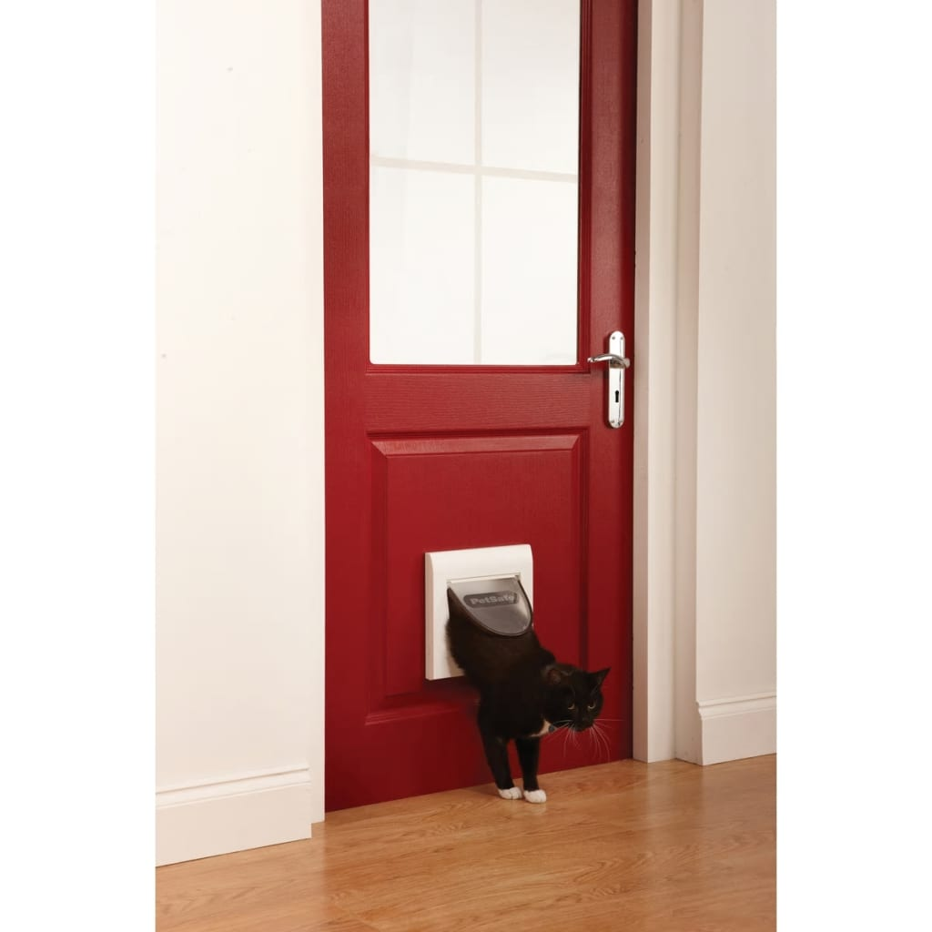 PetSafe Magnetisch kattenluik op 4 standen Classic 932 wit 5032