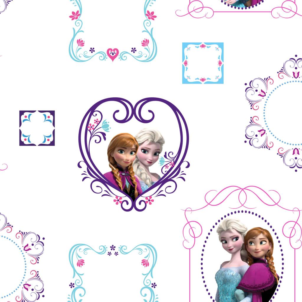 Kids at Home Tapet Frozen Frames, alb, 70-539 poza 2021 Kids at Home