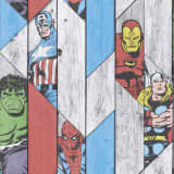 Kids at Home Behang Marvel Wood grijs 102435