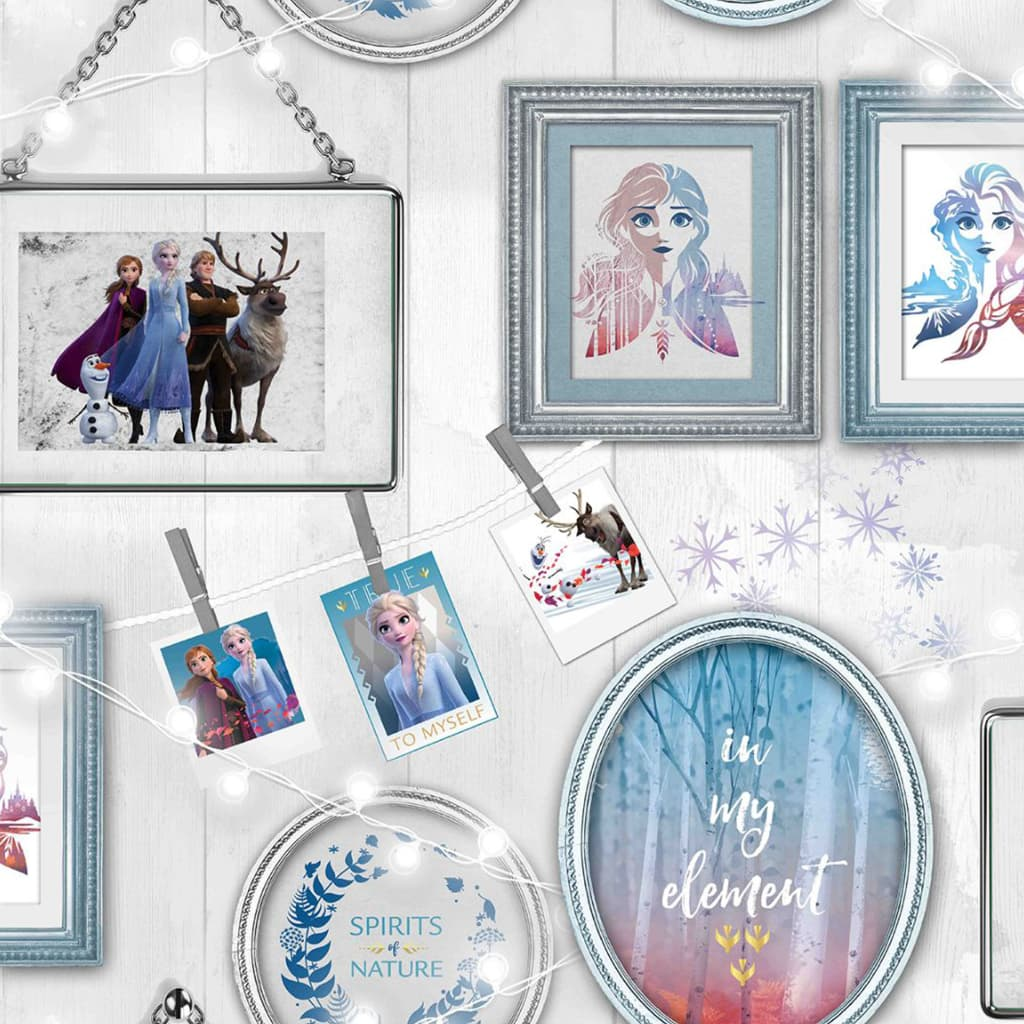 Kids at Home tapet Wallpaper Frozen Frames grå