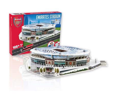 Nanostad Juego de puzzle 108 pzas en 3D Emirates Stadium PUZZ180054[2/3]