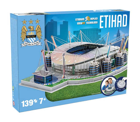Nanostad Juego de puzzle 3D 139 piezas Etihad Stadium PUZZ180058[2/2]
