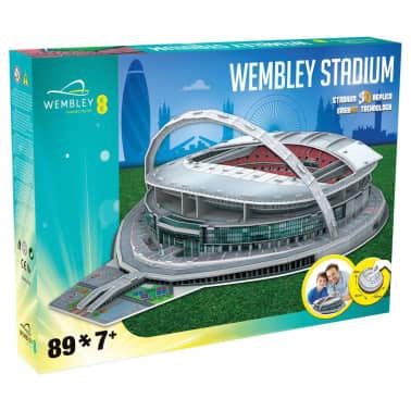 Nanostad 89-delige 3D-puzzelset England Wembley Stadium[2/2]