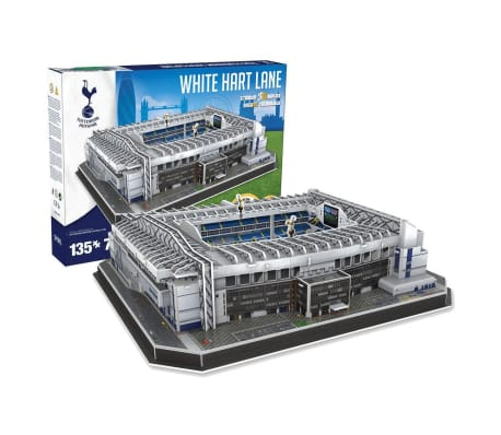 Nanostad Juego de puzzle 3D 135 piezas Tottenham White Hart Lane[3/4]