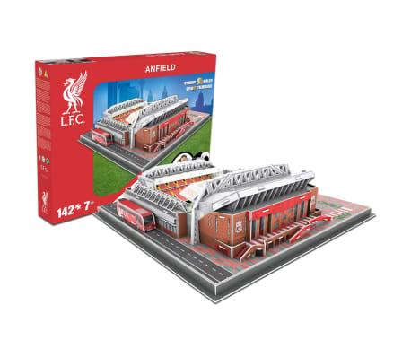 Nanostad Juego puzzle 3D 142 piezas Liverpool Anfield Road[8/9]