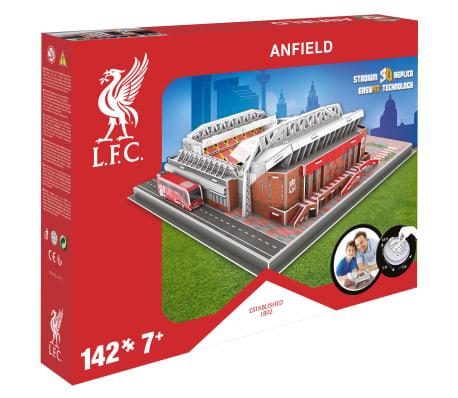 Nanostad Juego puzzle 3D 142 piezas Liverpool Anfield Road[9/9]