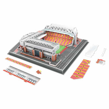 Nanostad Juego puzzle 3D 142 piezas Liverpool Anfield Road[5/9]