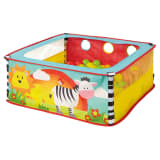 Worlds Apart Piscina de bolas Pop-up Zebra 80x80x30cm