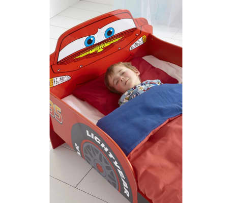 disney kinderbett cars lightning mcqueen 143 64 77 cm worl320010 g nstig kaufen. Black Bedroom Furniture Sets. Home Design Ideas