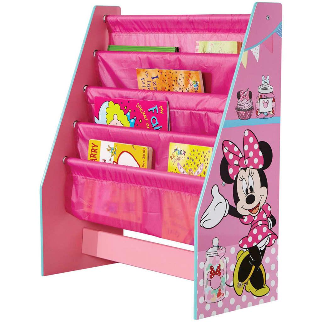 Afbeelding van Disney Kinderboekenkast Minnie Mouse roze 51x23x60 cm WORL222007