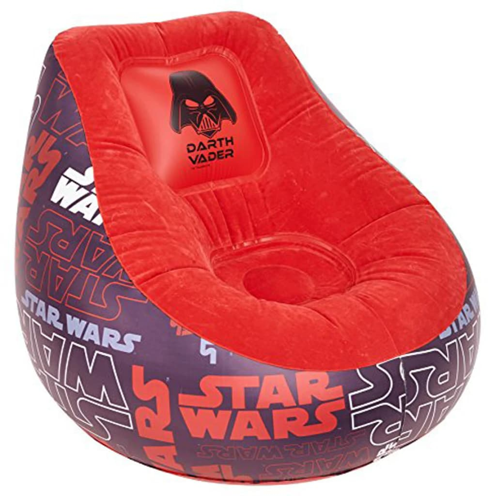 Afbeelding van Disney Opblaasbare stoel Star Wars zwart 78x68 cm WORL930005