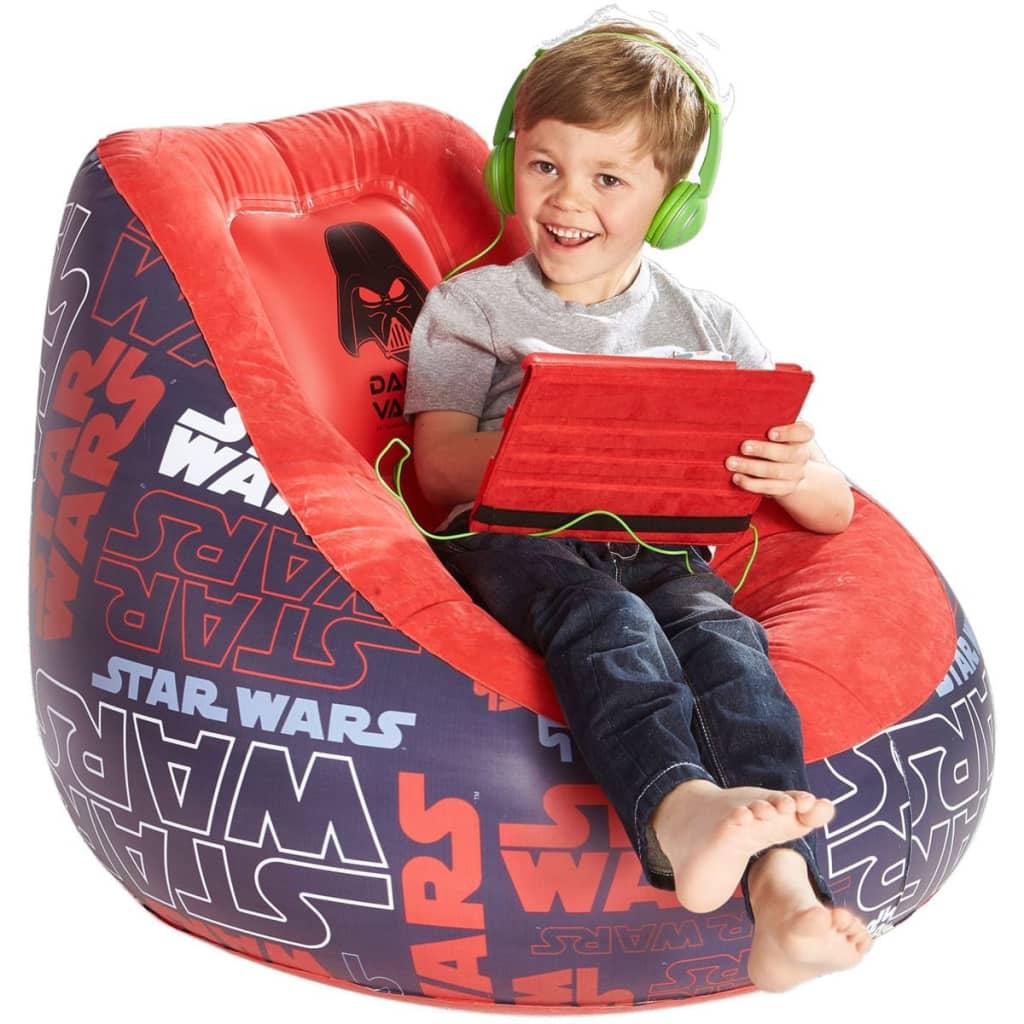 99413347 Disney Aufblasbarer Stuhl Star Wars 78x68 cm Schwarz WORL930005
