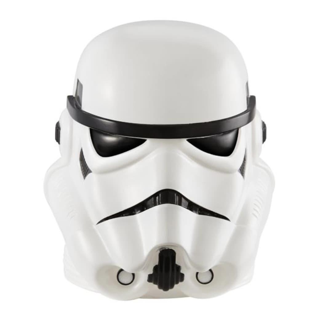 Afbeelding van Disney Stormtrooper Nachtlamp en zaklamp 14x8x8 cm wit WORL930010