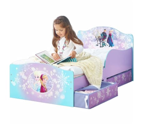 Disney Prabangi vaiko lova su 2 stalčiais Frozen, 140x70cm, WORL234023[2/4]