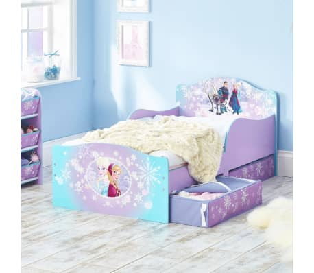 Disney Prabangi vaiko lova su 2 stalčiais Frozen, 140x70cm, WORL234023[3/4]