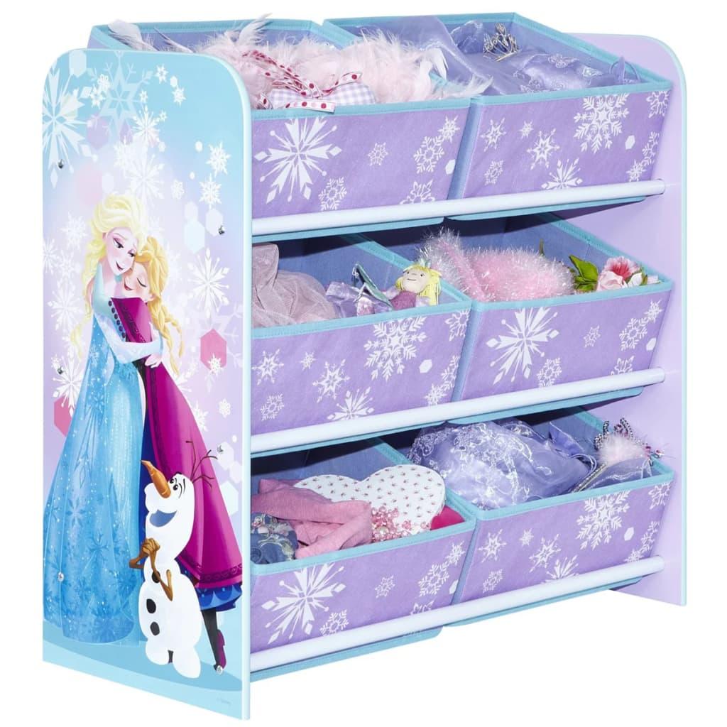 Afbeelding van Disney Kinderopbergmeubel Frozen 60x30x63,5 cm WORL234017