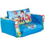 Paw Patrol 2-i-1 Uppblåsbar soffa 105x68x26 cm blå WORL268001