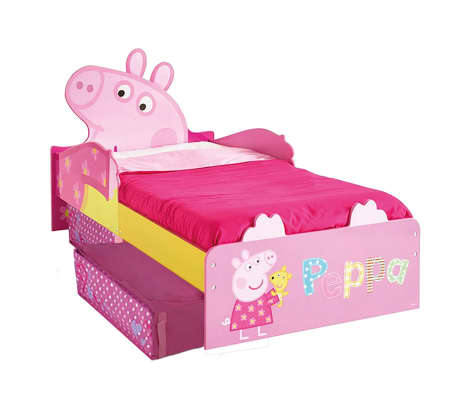info for 3c5de f05d8 Peppa Pig Toddler Bed with Drawers 140x70 cm Pink WORL213010