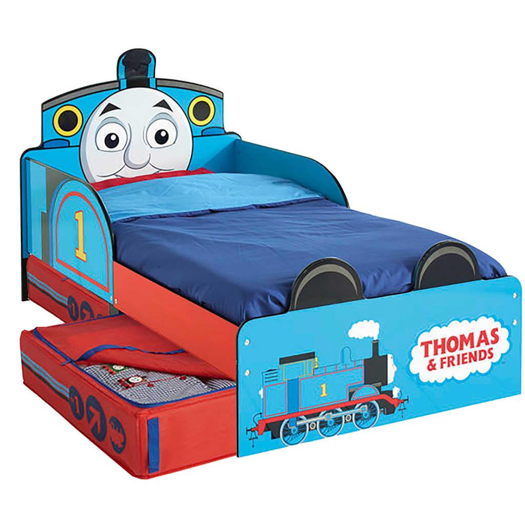 Thomas & Friends Cama infantil con cajón 143x77x67 cm azul WORL610011