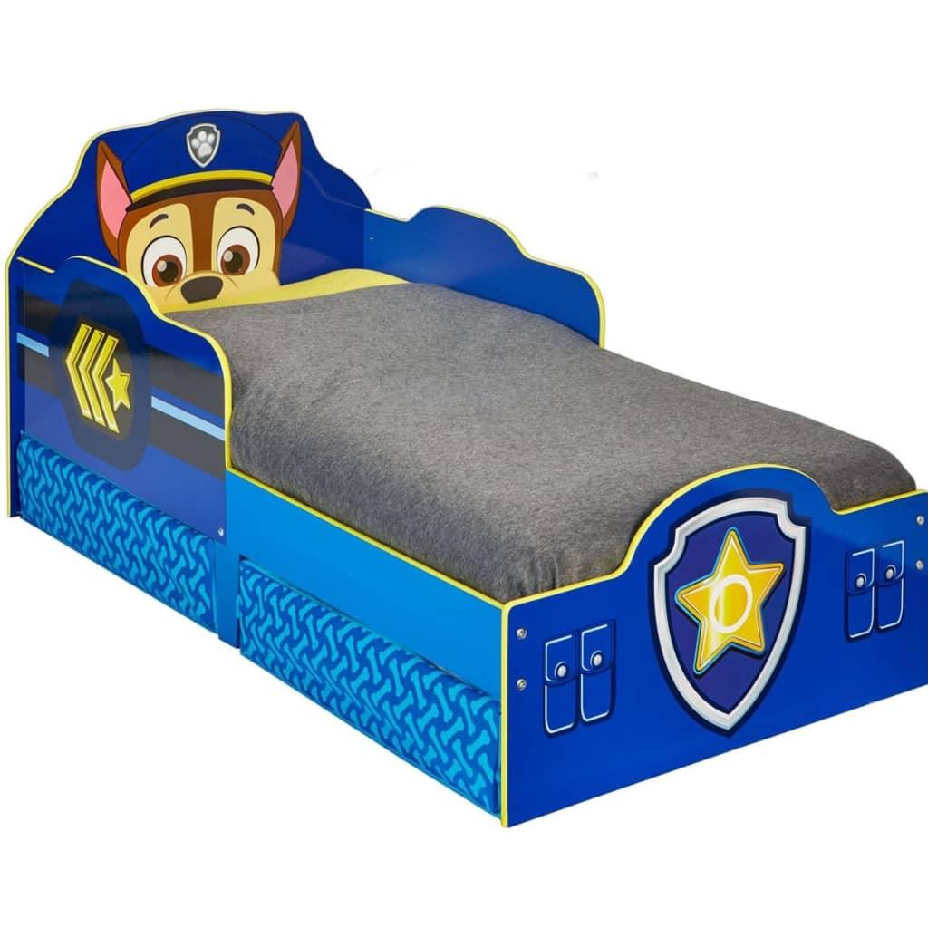Paw Patrol Cama infantil con cajones 145x68x77 cm azul WORL268007
