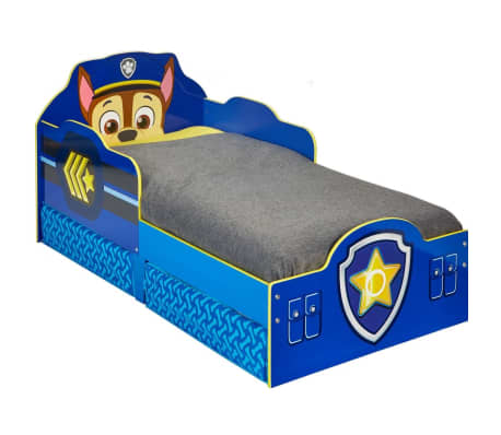 Paw Patrol Letto Per Bambini Con Cassetti 145x68x77 Cm Blu