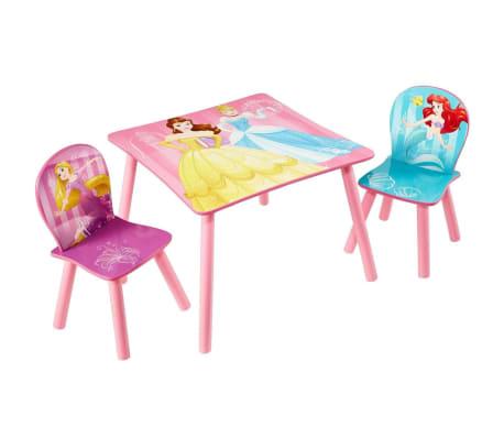 disney 3 tlg tisch und stuhl set prinzessin 45 x 63 x 63 cm rosa worl660020 g nstig kaufen. Black Bedroom Furniture Sets. Home Design Ideas