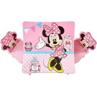 acheter disney table minnie mouse avec 2 chaises 63x63x45 cm rose worl222013 pas cher. Black Bedroom Furniture Sets. Home Design Ideas