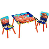 Disney Three Piece Table and Chairs Set Cars WORL320021