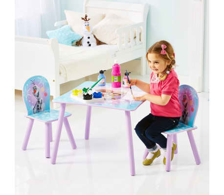 Disney Three Piece Table and Chairs Set Frozen 63x63x45 cm WORL234027[3/6]