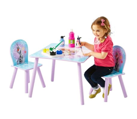 Disney Three Piece Table and Chairs Set Frozen 63x63x45 cm WORL234027[4/6]
