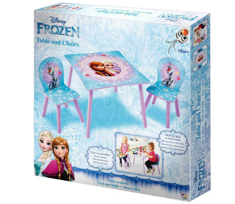 Disney Three Piece Table and Chairs Set Frozen 63x63x45 cm WORL234027[6/6]