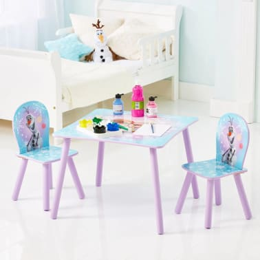 Disney Three Piece Table and Chairs Set Frozen 63x63x45 cm WORL234027[2/6]