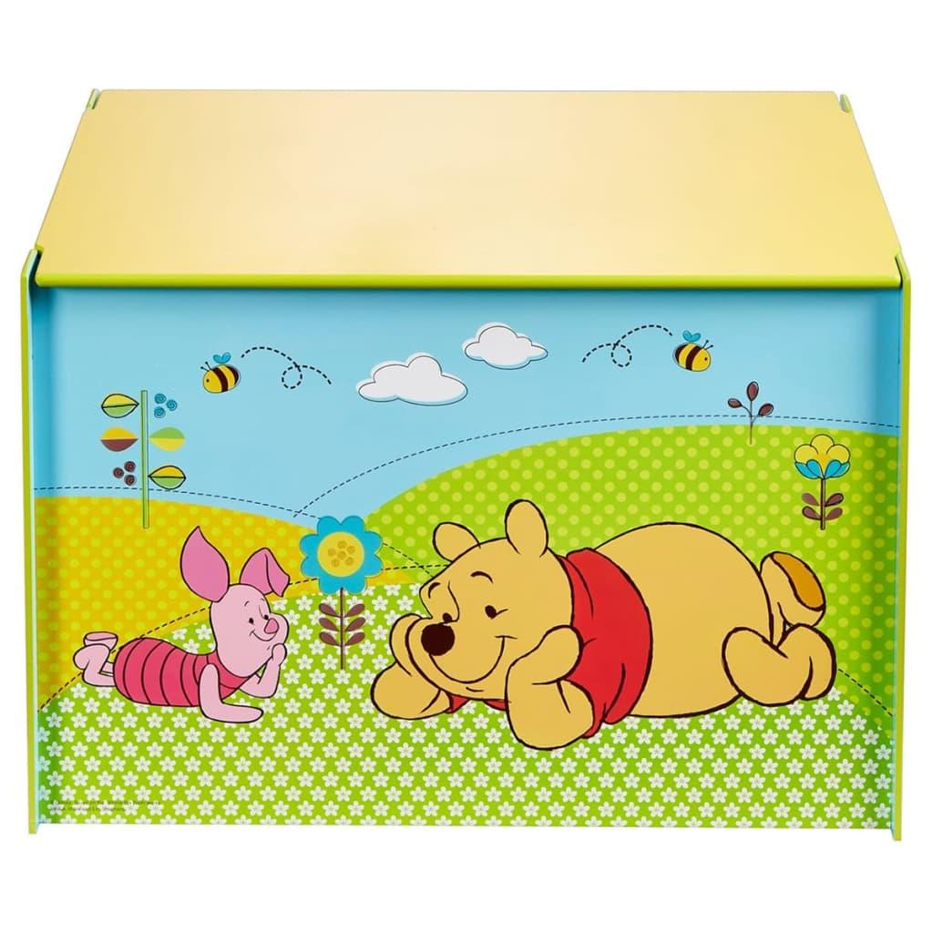 Afbeelding van Disney Speelgoedkist Winnie de Poeh blauw 60x40x40 cm hout WORL104003