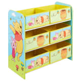 Disney Aufbewahrungsregal 6 Boxen Winnie Puuh 60x30x64 cm WORL104002