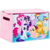 My Little Pony Wooden Toy Box 60x40x40 cm Pink WORL920001