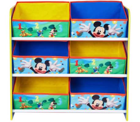 disney meuble de rangement mickey mouse 51x23x60cm worl119011. Black Bedroom Furniture Sets. Home Design Ideas