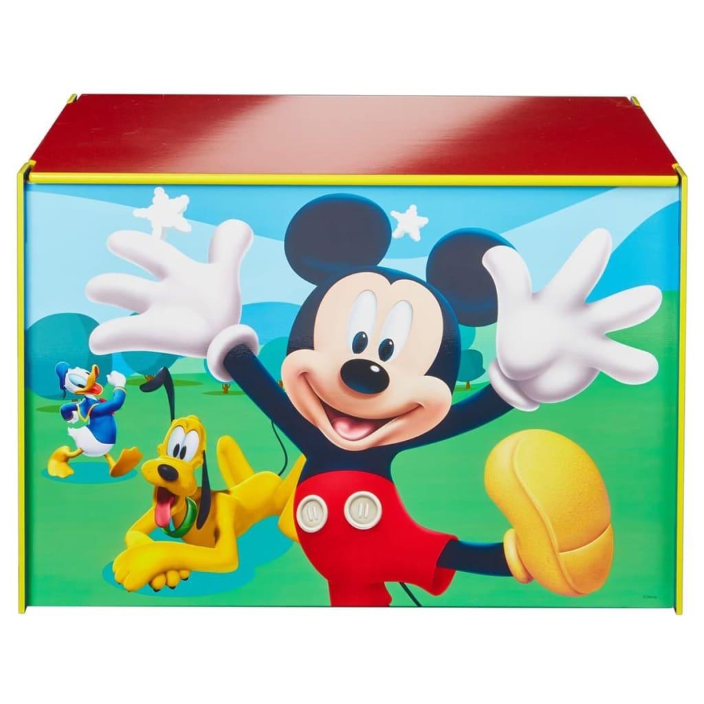 Afbeelding van Disney Speelgoedkist Mickey Mouse blauw 60x40x40 cm hout WORL119012