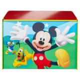 Disney Spielzeugkiste Mickey Mouse 60x40x40 cm Blau Holz WORL119012