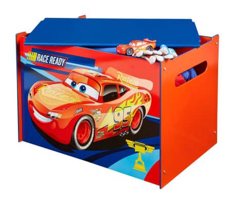 Disney Boîte à jouets Cars 60 x 40 x 40 cm Bleu WORL320020[3/6]