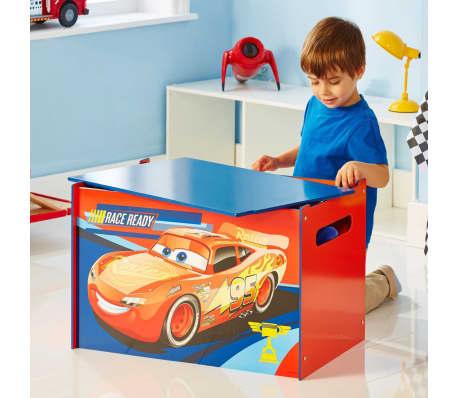 Disney Boîte à jouets Cars 60 x 40 x 40 cm Bleu WORL320020[6/6]