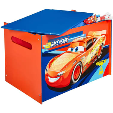 Disney Boîte à jouets Cars 60 x 40 x 40 cm Bleu WORL320020[2/6]