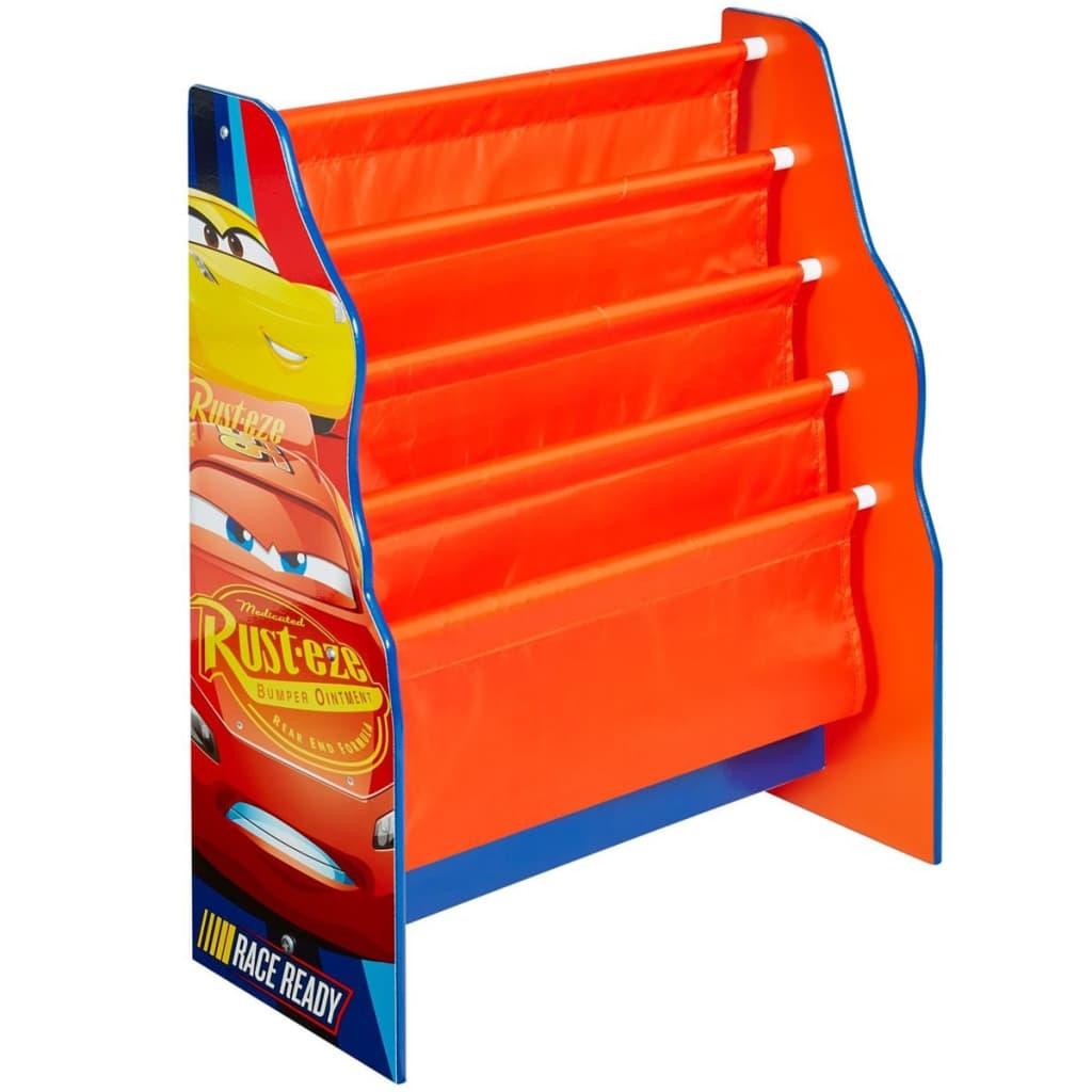 Disney Regał na książki Auta (Cars), pomarańczowy, 51 x 23 x 60 cm