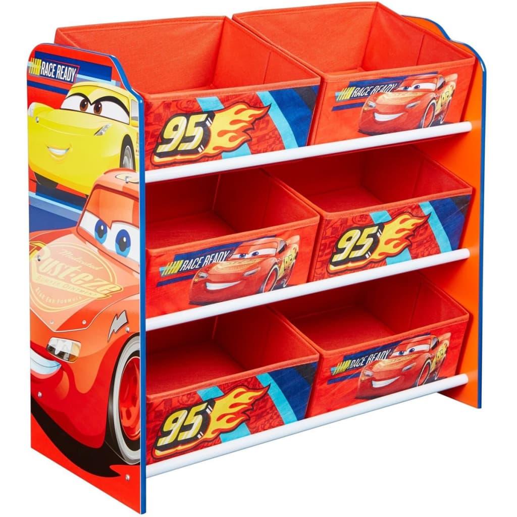 Afbeelding van Disney Kinderopbergmeubel Cars 60x30x64 cm WORL320019