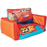 Disney 2-en-1 Canapé rabattable voiture Orange 105x68x26 cm WORL320023