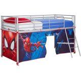 Marvel speeltent hoogslaper Spider-Man 86 x 195 x 74 cm blauw