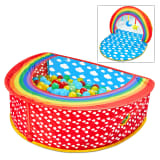 Worlds Apart Piscina de bolas Pop-up Rainbow multicolor 100x76x30 cm